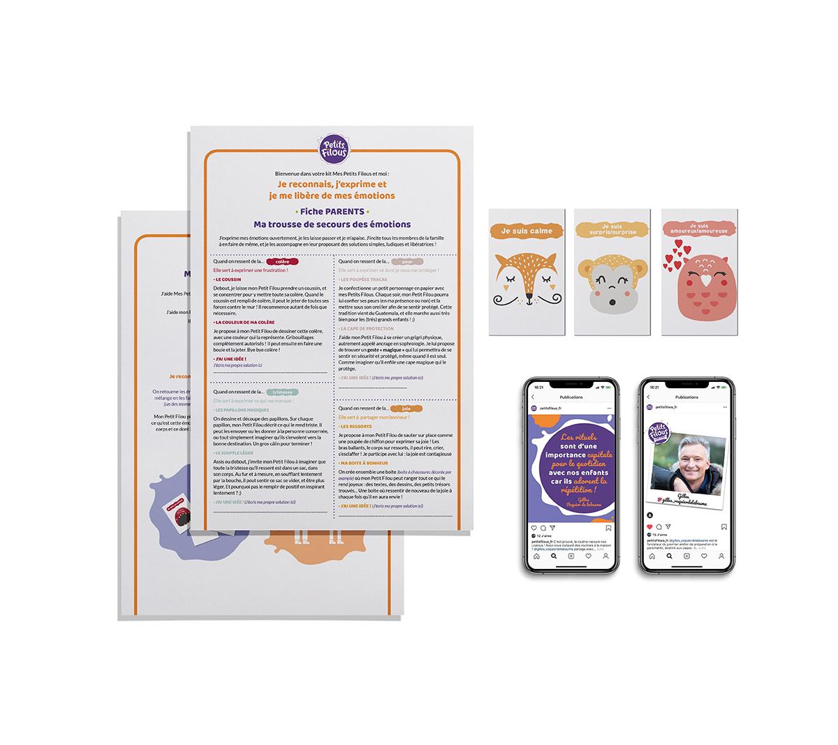 Kit mensuel à télécharger sur petis-filous.fr/inspirations