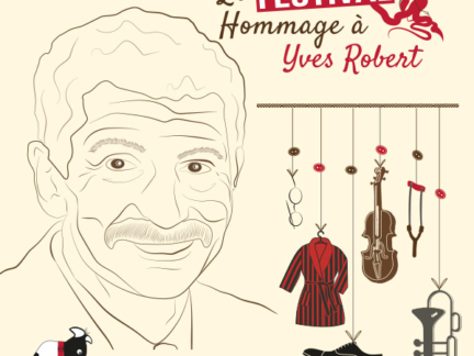 Affiche du festival hommage à Yves Robert